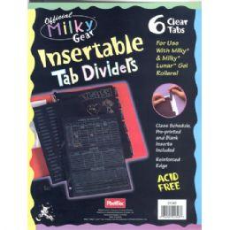 48 Wholesale Milky Gear Tear Dividers