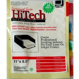 18 Wholesale Keer Fax 8 Clear Tab Dividers