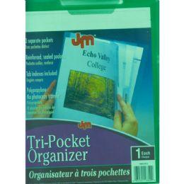 50 Wholesale Centis Tri Pocket Organizer