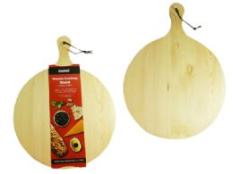 12 Units of Round Wooden Cutting Board - Cutting Boards