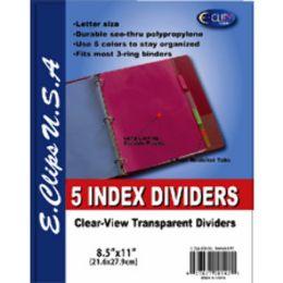 72 Wholesale Index Dividers
