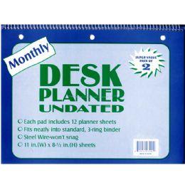 48 Bulk Undated Monthly Diary - 2 Pk.