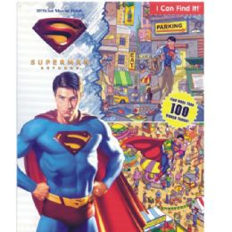 48 Bulk Superman Returns Official Movie Book Includes Activity