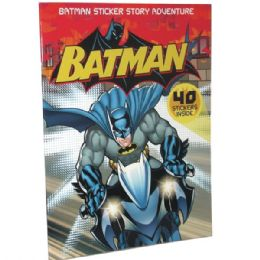 48 Bulk Batman Sticker Story Adventure 40 Stickers Included