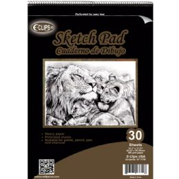 """12 Units of 30 Sheet Sketch Pad - 11.75"""" X 16.5"""" - Sketch, Tracing, Drawing & Doodle Pads"""
