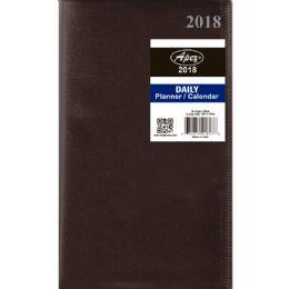 48 Bulk 2018 Daily Planner 3.5x5 Asst. Colors