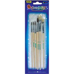60 of Artist Brushes, 6 Pk., Asst Sizes