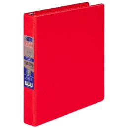 """24 Units of Vinyl Binder, 1"""", 2 Pockets , Red - Clipboards and Binders"""
