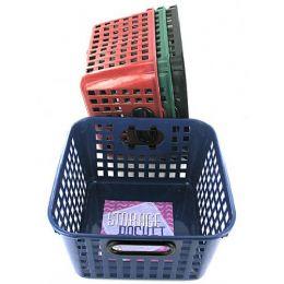 72 Units of 8.5 X 9'' Plastic Basket - Baskets