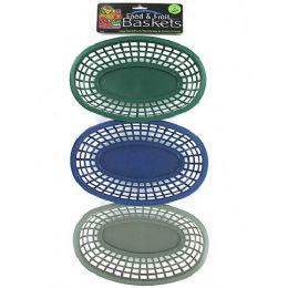 72 Units of Oval Food Basket - Baskets