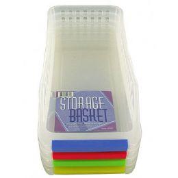 72 Units of Plastic Storage Basket - Baskets