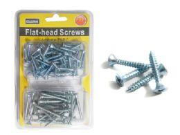 "96 Units of Flat Head Screws 1""+1.5"" 170gm P - Drills and Bits"