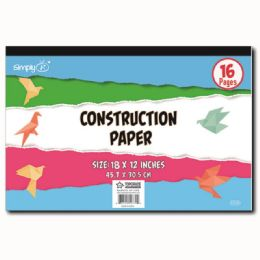 96 Units of Construction Pad - Sketch, Tracing, Drawing & Doodle Pads