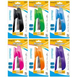 72 Units of Stapler With Staples - Staples & Staplers