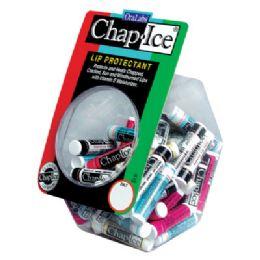 60 Bulk Chap Ice Lip Balm Tub 60 ct