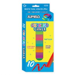 96 Units of 8 Count Jumbo Colored Chalks - Chalk,Chalkboards,Crayons