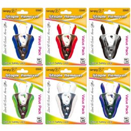 144 Units of Staple Remover With Locker - Staples & Staplers