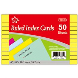 96 Wholesale Colored Index Card