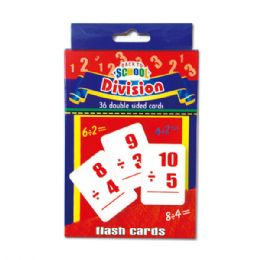 96 Bulk Flash Cards/division