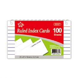 96 Wholesale Index Cards Count Spiral Book