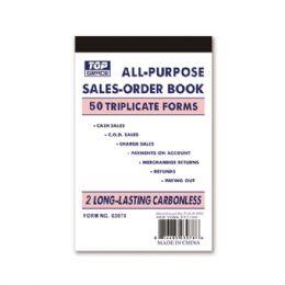 144 Units of Order Book - Sales Order Book