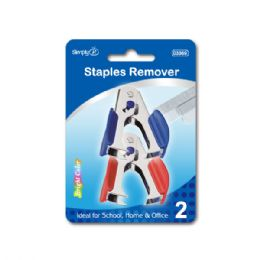 144 Units of Two Piece Staple Remover - Staples and Staplers