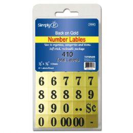 144 Wholesale Number Labels
