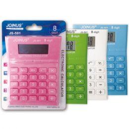 24 Wholesale Calculator Assorted Colors