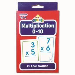96 Bulk Multiplication Flash Cards