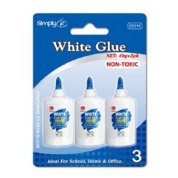 96 Bulk White Glue 3 Count/40g