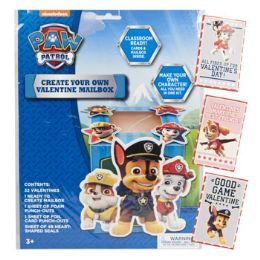 60 Units of Valentine Mailbox Paw Patrol Create Your Own - Valentine Cut Out's Decoration