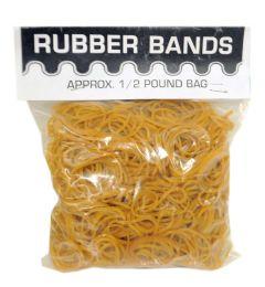 50 Bulk Half Pound Rubber Band Poly Bag