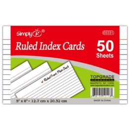 108 Units of Ruled Index Cards - Dividers & Index Cards