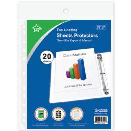 108 Bulk Twenty Count Sheet Protector