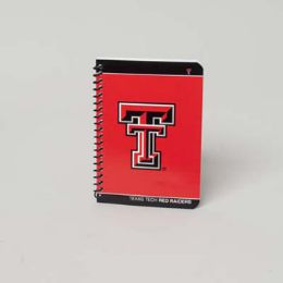 180 Wholesale Notebook 5 X 7 Texas Tech Red Raiders Classic