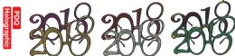 96 Units of 2018 New Year Glasses - New Years