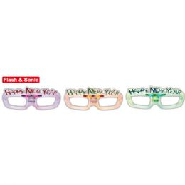 48 Units of New Year Glasses Flash - New Years