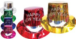 144 Units of New Year Paper Hat - New Years