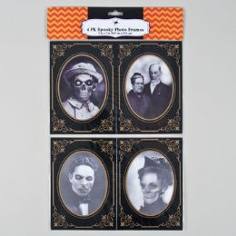 72 Units of Spooky Haunted Photo Frames - Picture Frames