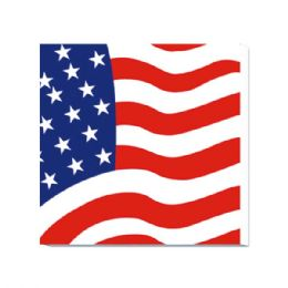 96 Units of 20 Count 2 Ply Napkin Flag - 4th Of July