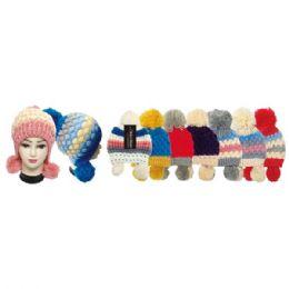 24 Bulk Lady's Fashion Knit Hat
