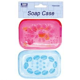 48 Units of Two Piece Soap Case - Soap Dishes & Soap Dispensers