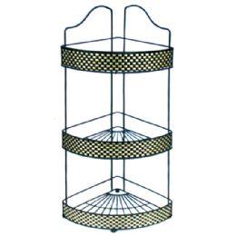 12 Units of 3-Tier Corner Rack - Shower Accessories