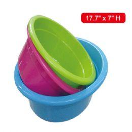 "36 Units of Deep Basin 18x7""h - Buckets & Basins"