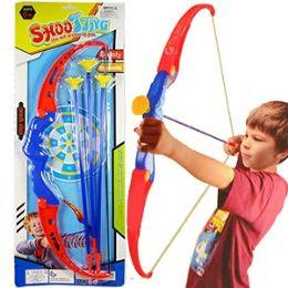 48 Bulk 4 Piece Blue Archery Sets.