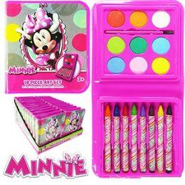 48 Units of Disney's Minnie's BoW-Tique Art Set - Art Paints