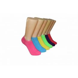 480 Units of Ladies Invisible Socks Without Cushion - Womens Ankle Sock