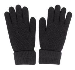 36 Bulk Fuzzy Inner Knit Glove