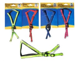 144 Units of Cushioned Pet Harness - Pet Collars and Leashes