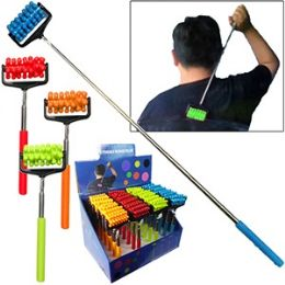 48 Units of Extendable Massage Rollers - Back Scratchers and Massagers